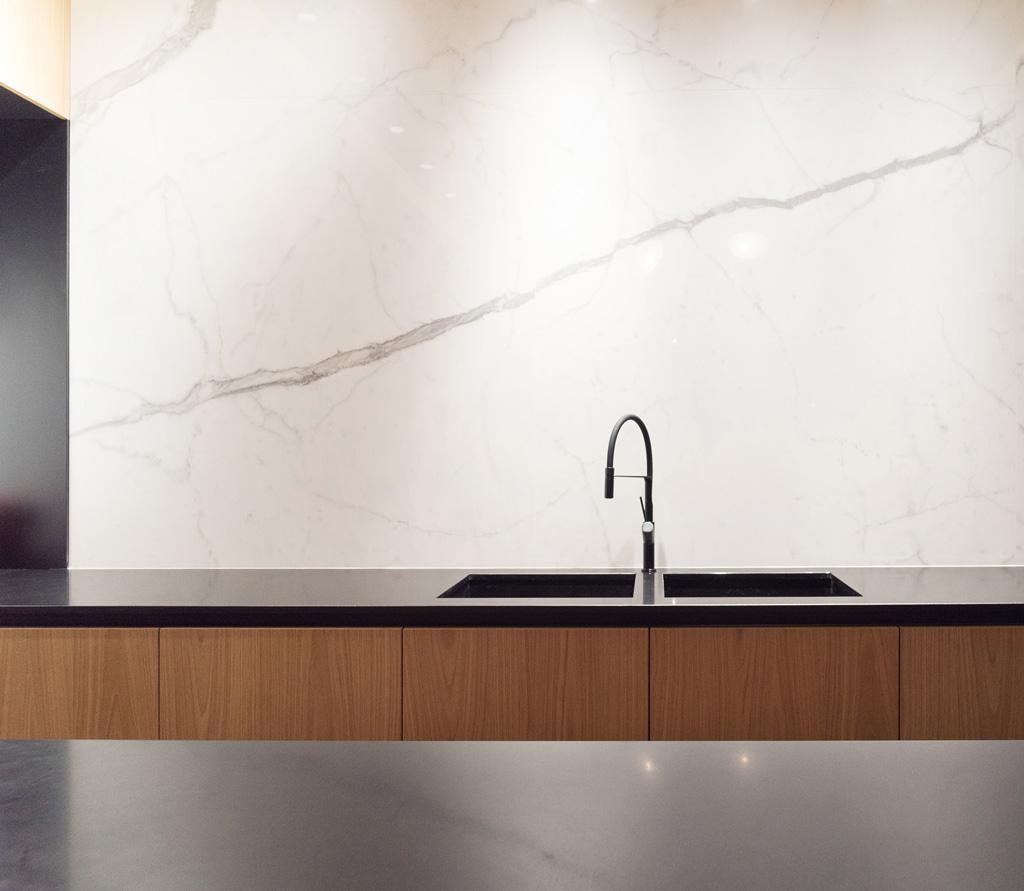sara ranieri architect kitchen marble design