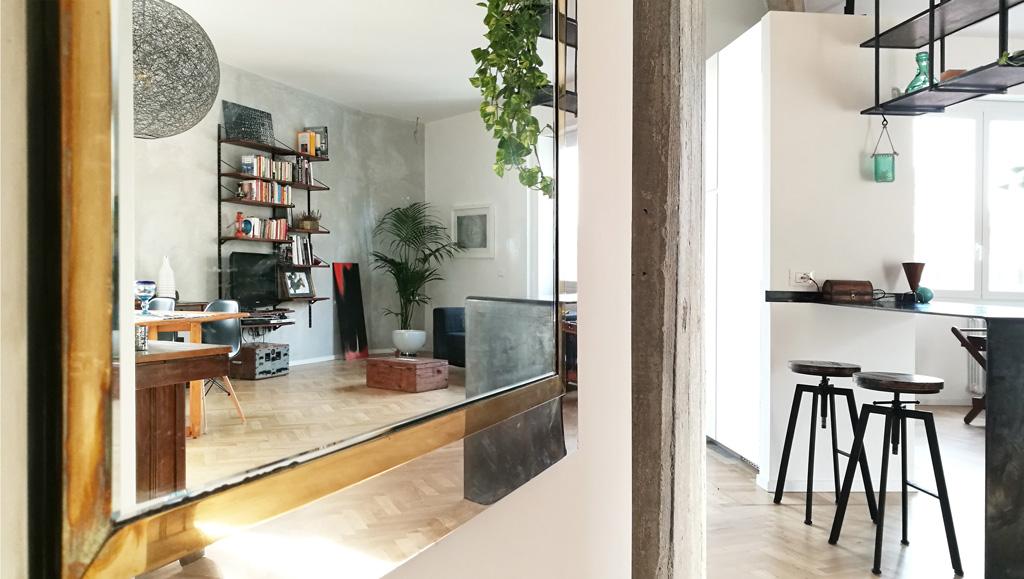 sara ranieri architect living room space